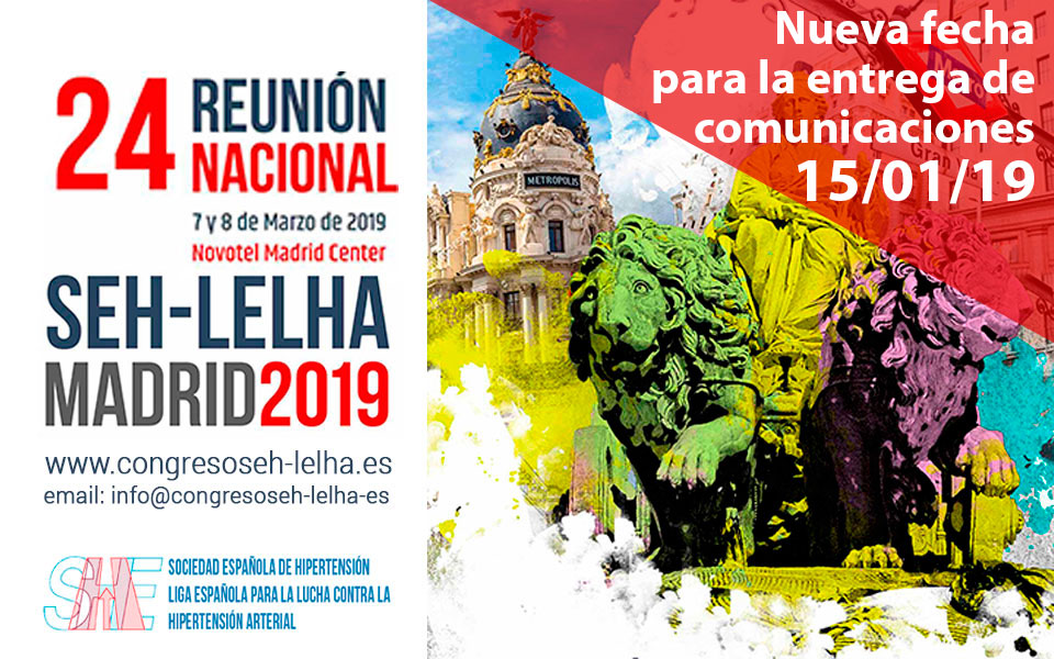 24ª Reunión Nacional SEH-LELHA Madrid