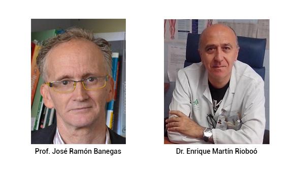 Prof. José Ramón Banegas y el Dr. Enrique Martín Rioboó, autores del estudio MAPA