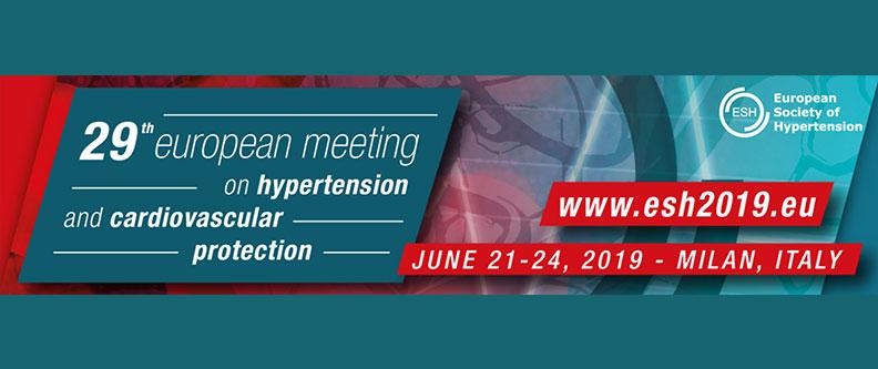 29 Reunión de la Sociedad Europea de Hipertensión